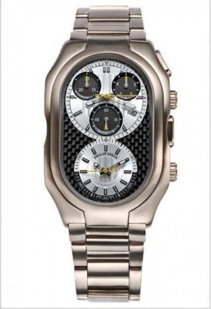 Philip Stein Prestige Chronograph Titanium Collection