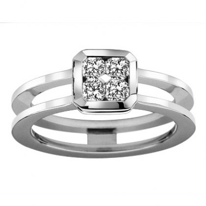 "The Flanders Collection Bague Flanders ""Quattro Love"" RNG144L"