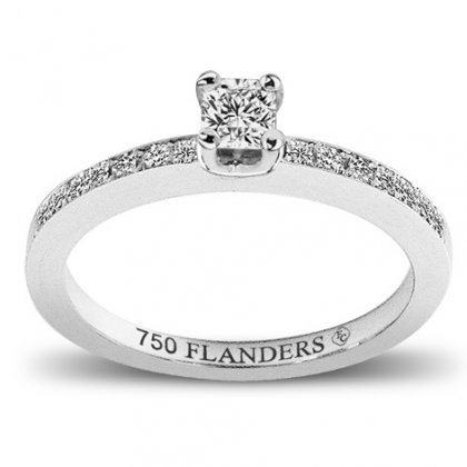 The Flanders Collection Solitaire Flanders RNG113B