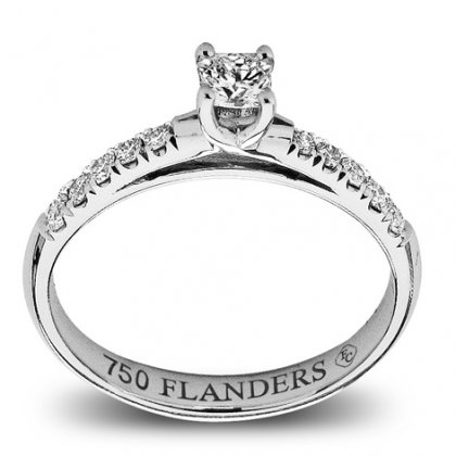 The Flanders Collection Solitair Flanders RNG191A
